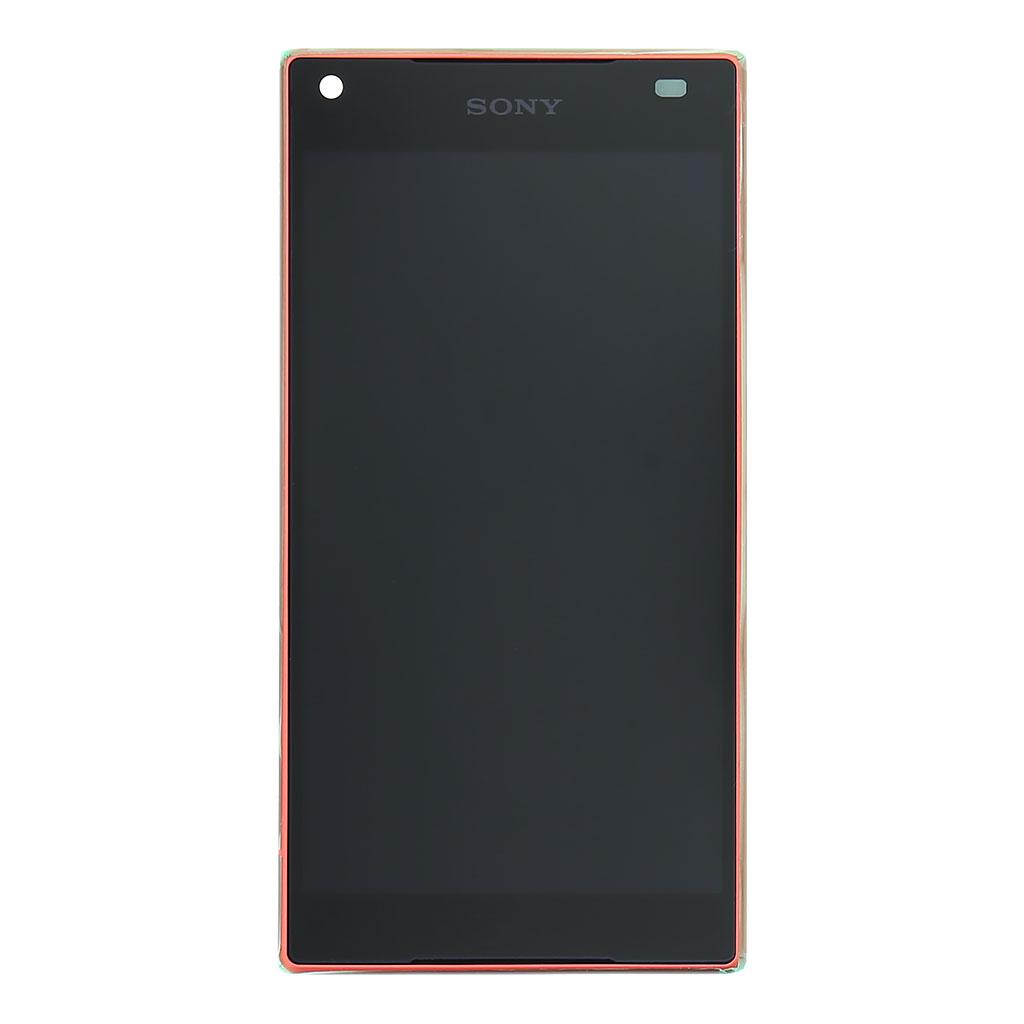 LCD display + dotyk. deska + př. kryt pro Sony Xperia Z5 Compact (E5823), Coral (Service Pack)