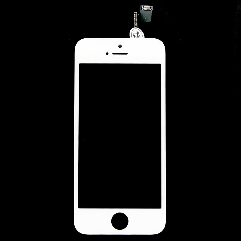 LCD display + dotyková deska pro Apple iPhone 5S, bílá OEM
