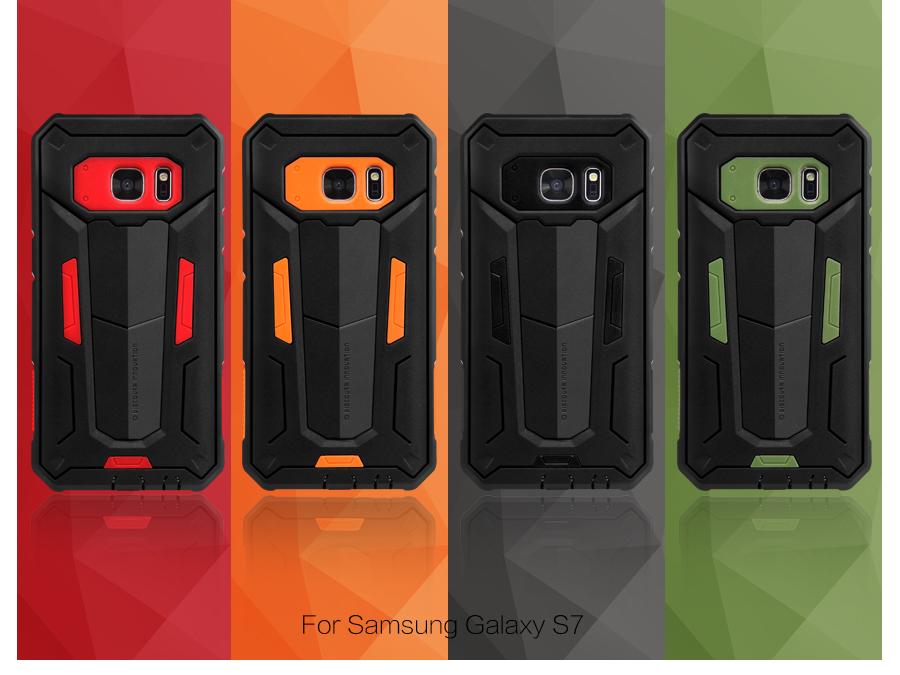 Pouzdro Nillkin Defender I I pro Samsung Galaxy S7 Edge (935) černé