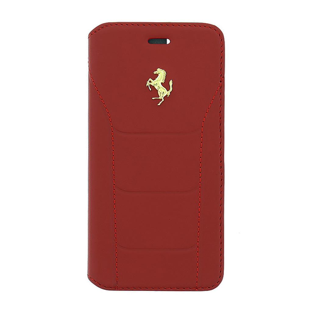 Pouzdro Ferrari 488 Book FESEGFLBKP6RE pro Apple iPhone 6/6S červené
