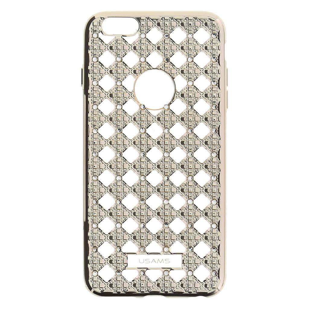 Silikonové pouzdro USAMS Ross pro Apple iPhone 6/6S Plus, Light Gold