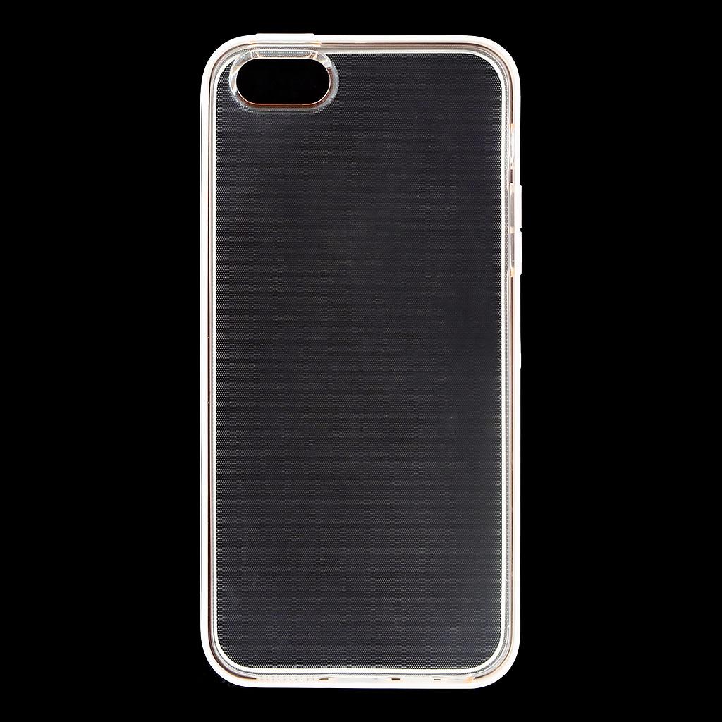 Silikonové pouzdro USAMS X-Match pro Apple iPhone 5S/SE, Rose Gold