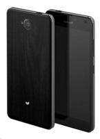 MOZO zadní kryt na Microsoft Lumia 650 imitace tmavého dřeva