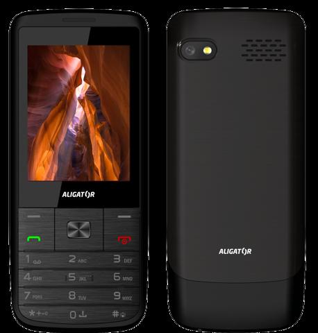 Aligator D920 Senior Dual SIM Black