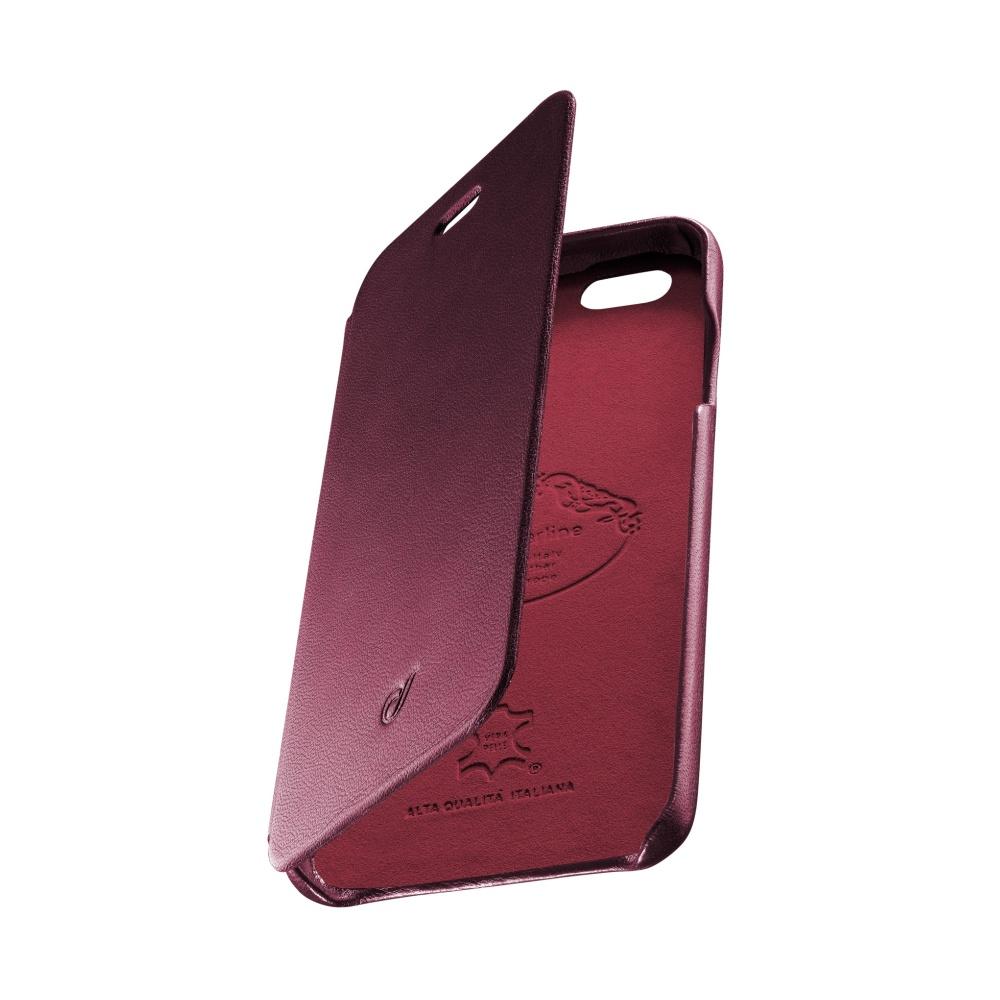 CellularLine SUITE pouzdro flip Apple iPhone 6/6s pravá kůže červené