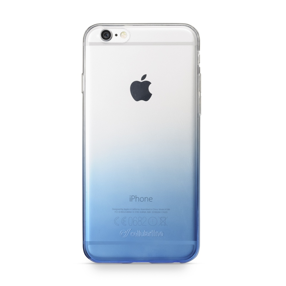 CellularLine SHADOW Ultratenké pouzdro Apple iPhone 6/6s modré