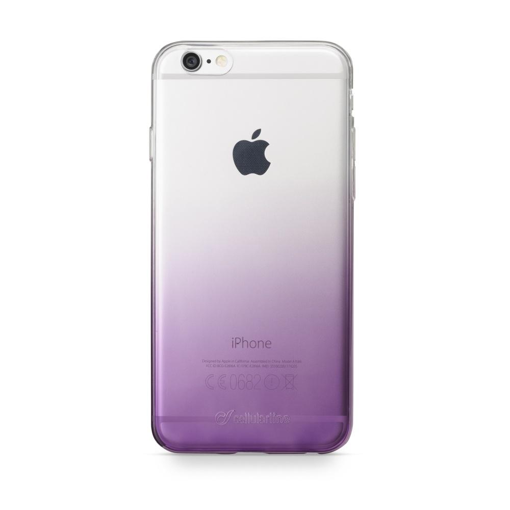 CellularLine SHADOW Ultratenké pouzdro Apple iPhone 6/6s fialové