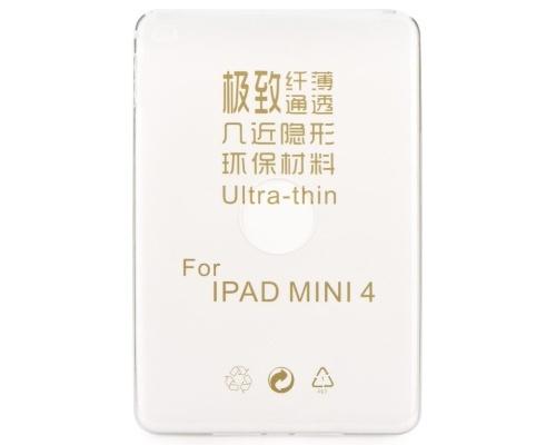 Forcell Ultra Slim silikonové pouzdro 0,3mm Apple iPad mini 4 čiré