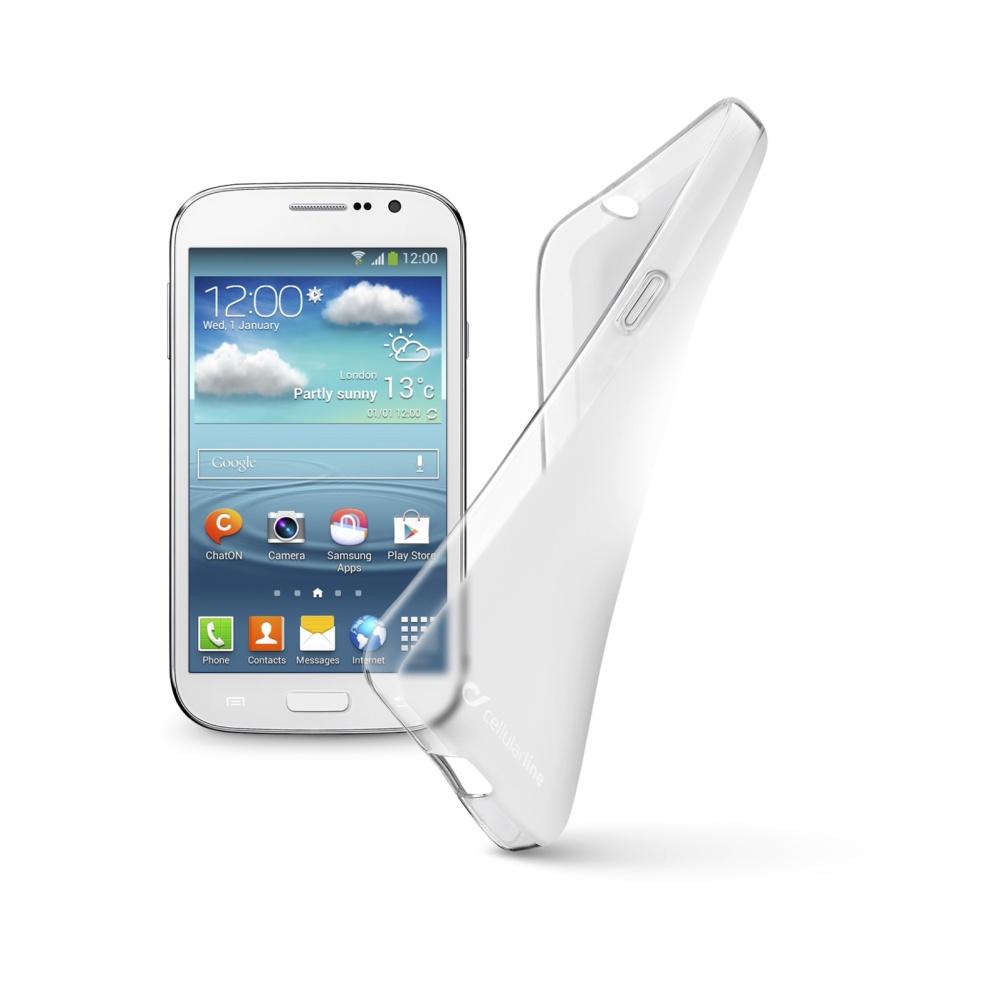 Cellularline SHAPE silikonové pouzdro Samsung Galaxy Grand Neo bezbarvé