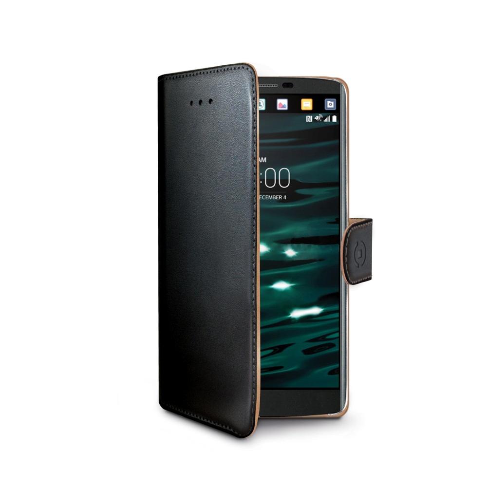 CELLY Wally Pouzdro flip na mobil LG V10 černé