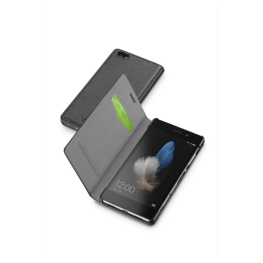 CellularLine Book Essential pouzdro flip Huawei P8 Lite černé