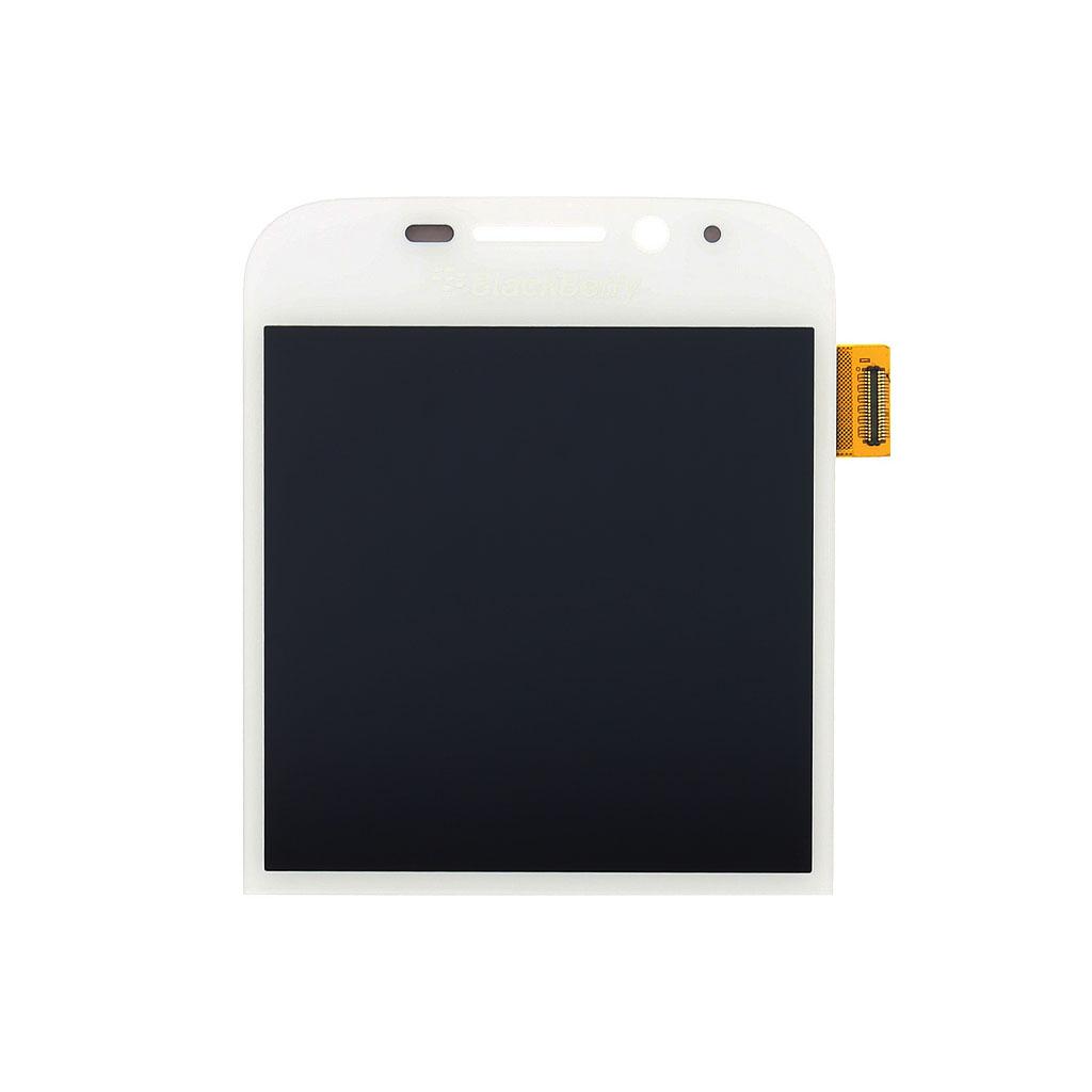 LCD display + dotyk. deska pro BlackBerry Classic Q20, bílá