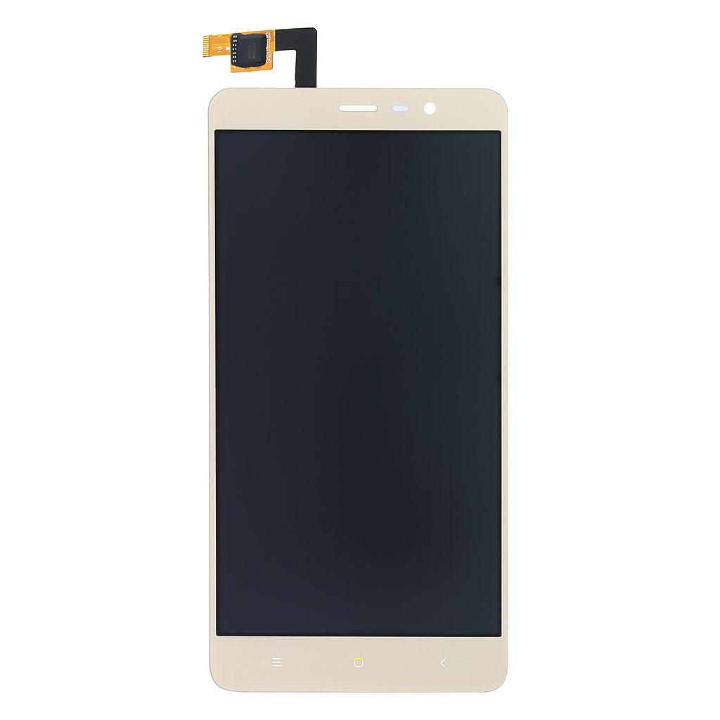 LCD display + dotyková deska pro Xiaomi Redmi Note 3, zlatá