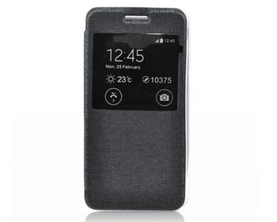 Forcell S-View flipové pouzdro Samsung Galaxy J1 černé