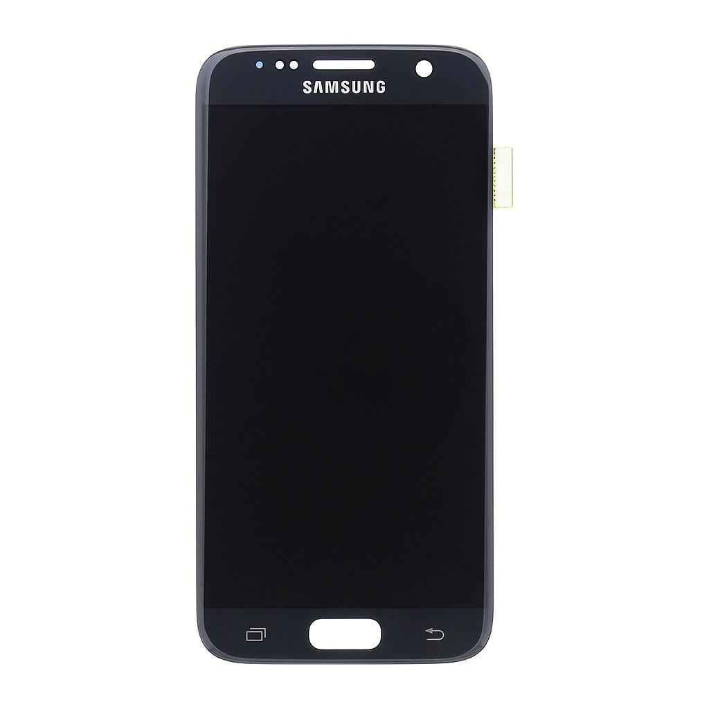 LCD display + dotyk. deska pro Samsung Galaxy S7 (G930) černá