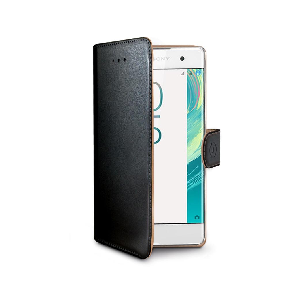 CELLY Wally Pouzdro flip na mobil Sony Xperia X černé