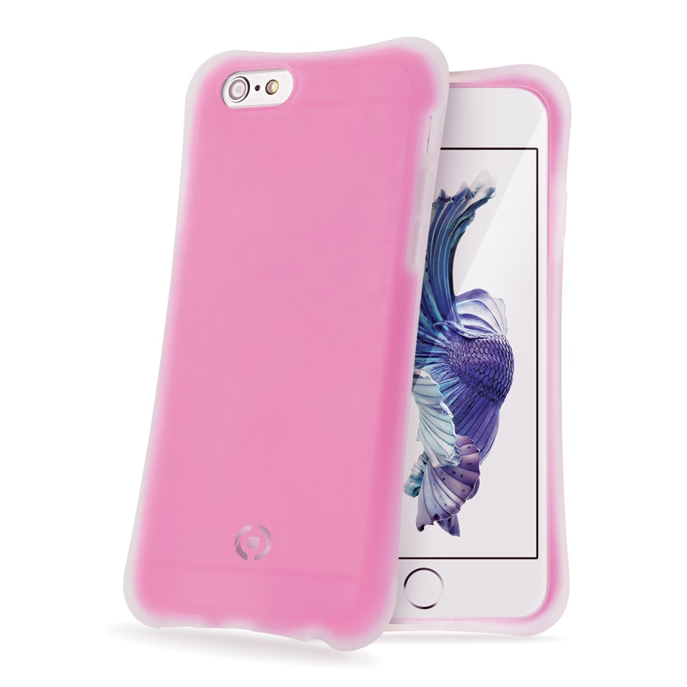 CELLY ICECUBE silikonové pouzdro Apple iPhone 6s Plus fuchsiové