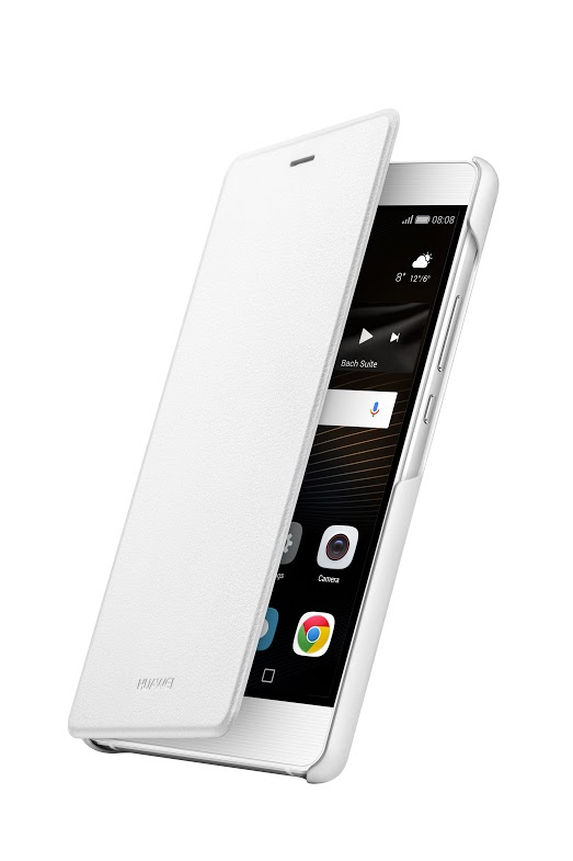 Huawei Original Folio flipové pouzdro Huawei P9 Lite bílé