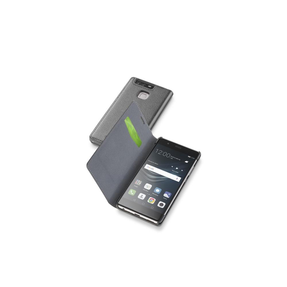 CellularLine Book Essential pouzdro flip Huawei P9 černé