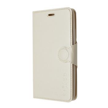 FIXED pouzdro flip na mobil Honor 7 bílé