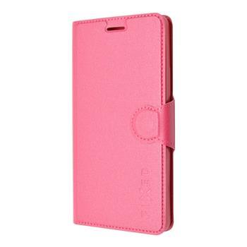 FIXED pouzdro flip na mobil Lenovo A7010 růžové