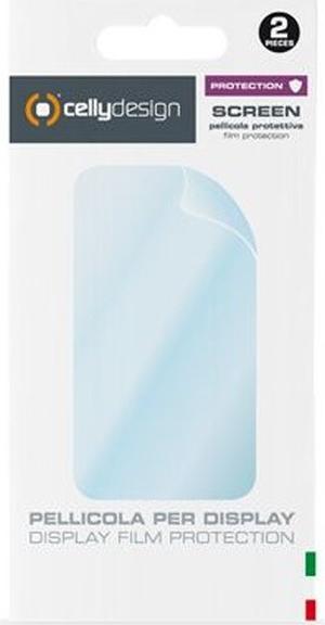 Ochranná prémiová fólie displeje CELLY Screen Protector pro Samsung Galaxy J2, lesklá, 2ks