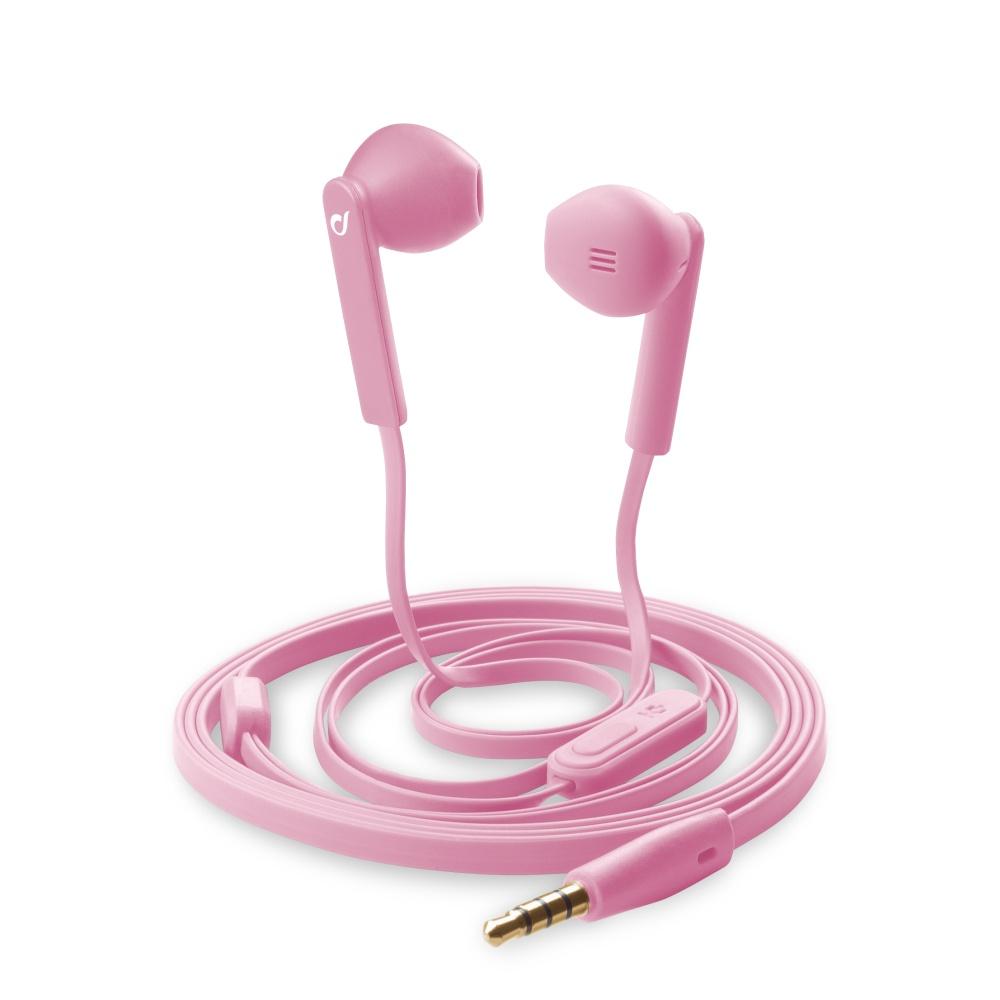CellularLine MANTIS In-ear sluchátka 3,5 mm jack růžová
