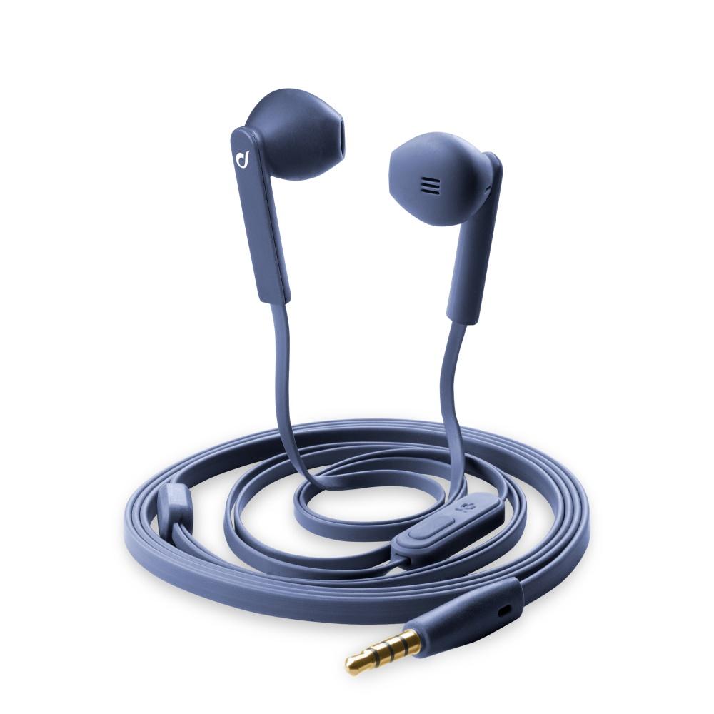 CellularLine MANTIS In-ear sluchátka 3,5 mm jack modrá