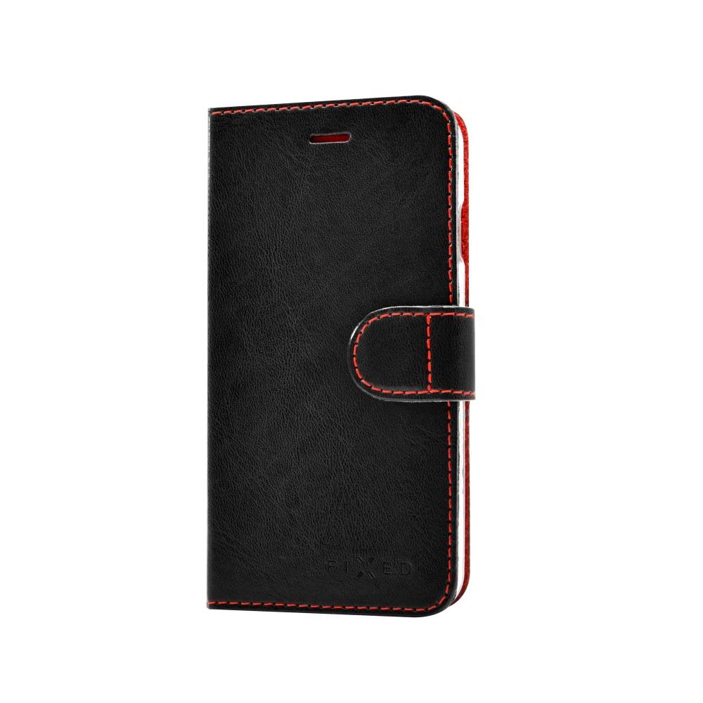 FIXED FIT flipové pouzdro na Motorola Moto G4/G4 Plus černé