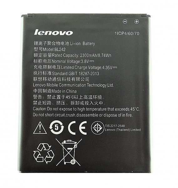 Baterie Lenovo BL242 1900mAh Li-Ion (Bulk)