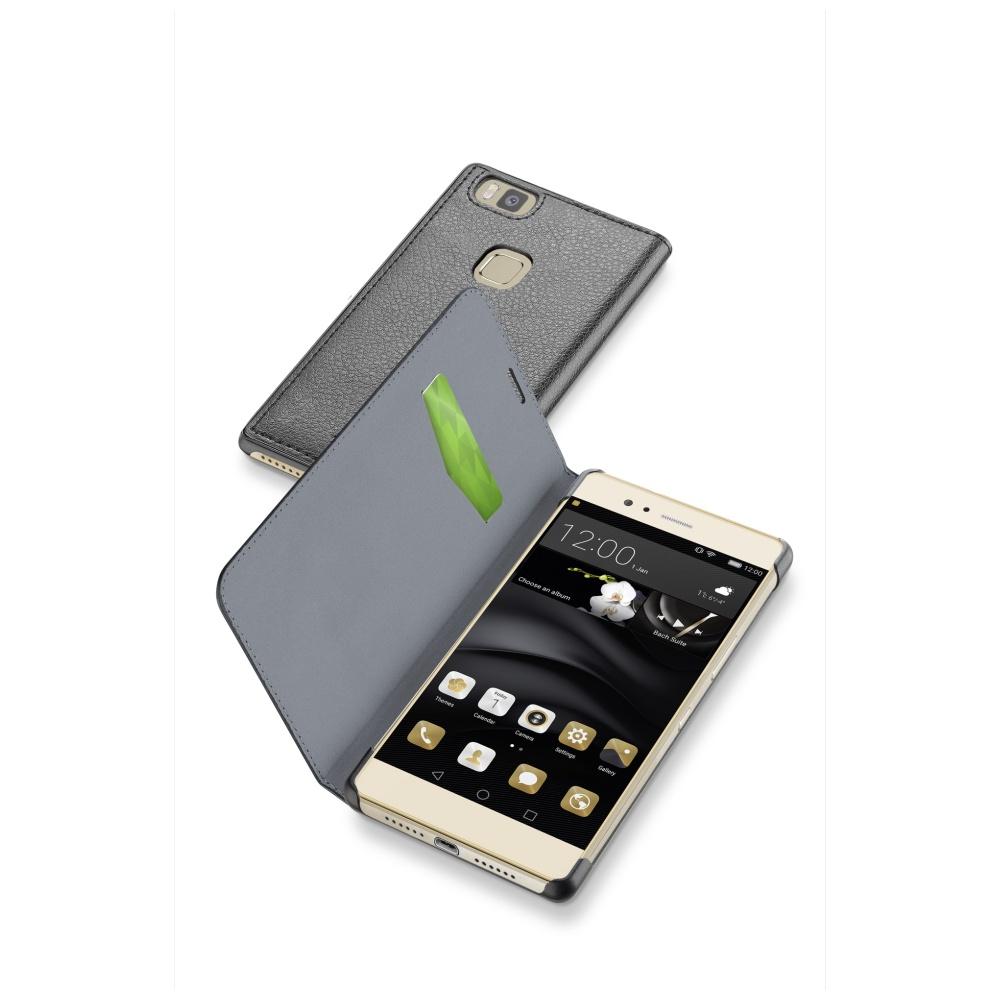 CellularLine Book Essential pouzdro flip Huawei P9 Lite černé