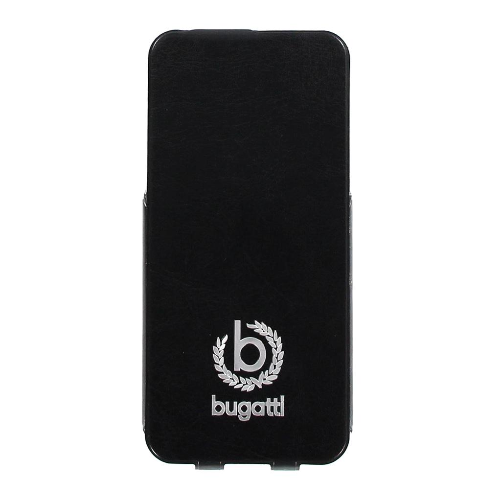 Bugatti Geneva Flip Pouzdro Black pro iPhone 5/5S/SE