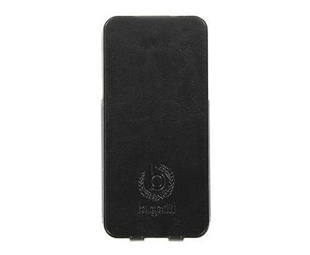 Pouzdro Bugatti Ultra Thin Flip pro Samsung i9195 Galaxy S4 mini black/černá