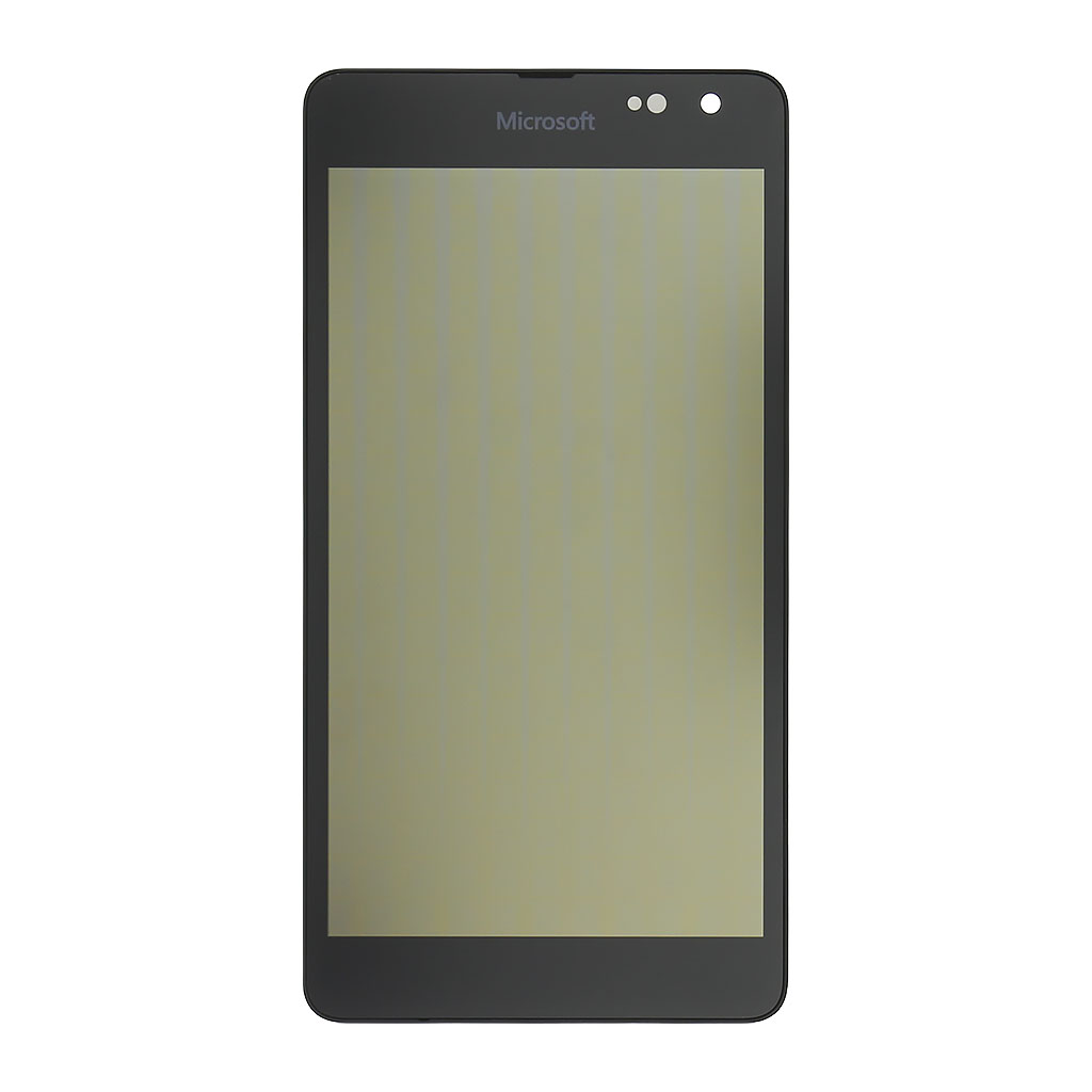 LCD display + dotyková deska pro Nokia Lumia 535, černá