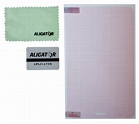 """Ochranná fólie Aligator na displej pro tablet 10,2 """", transparentní, univerzální s mřížkou, 1 ks + aplikátor"""