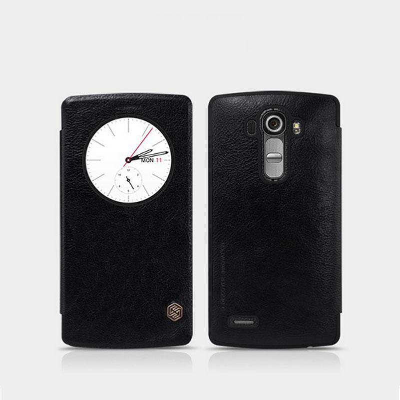 Nillkin Qin S-View flipové pouzdro LG Nexus 5X (H791) černé