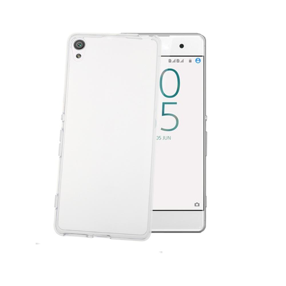CELLY Gelskin silikonové pouzdro pro Sony Xperia XA, bezbarvé