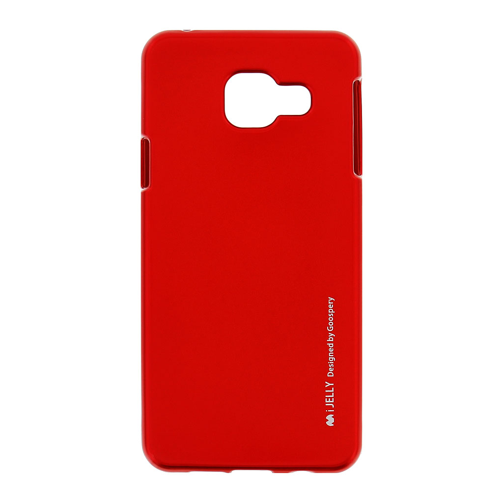 Mercury i-Jelly Case silikonové pouzdro pro Samsung Galaxy A3 2016 Metal Red