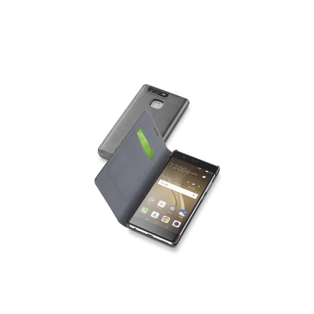 CellularLine Book Essential pouzdro flip Huawei P9 PLUS černé