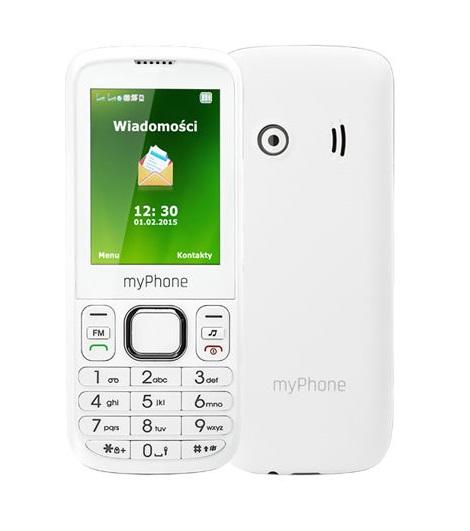 CPA myPhone 6300 Dual SIM White