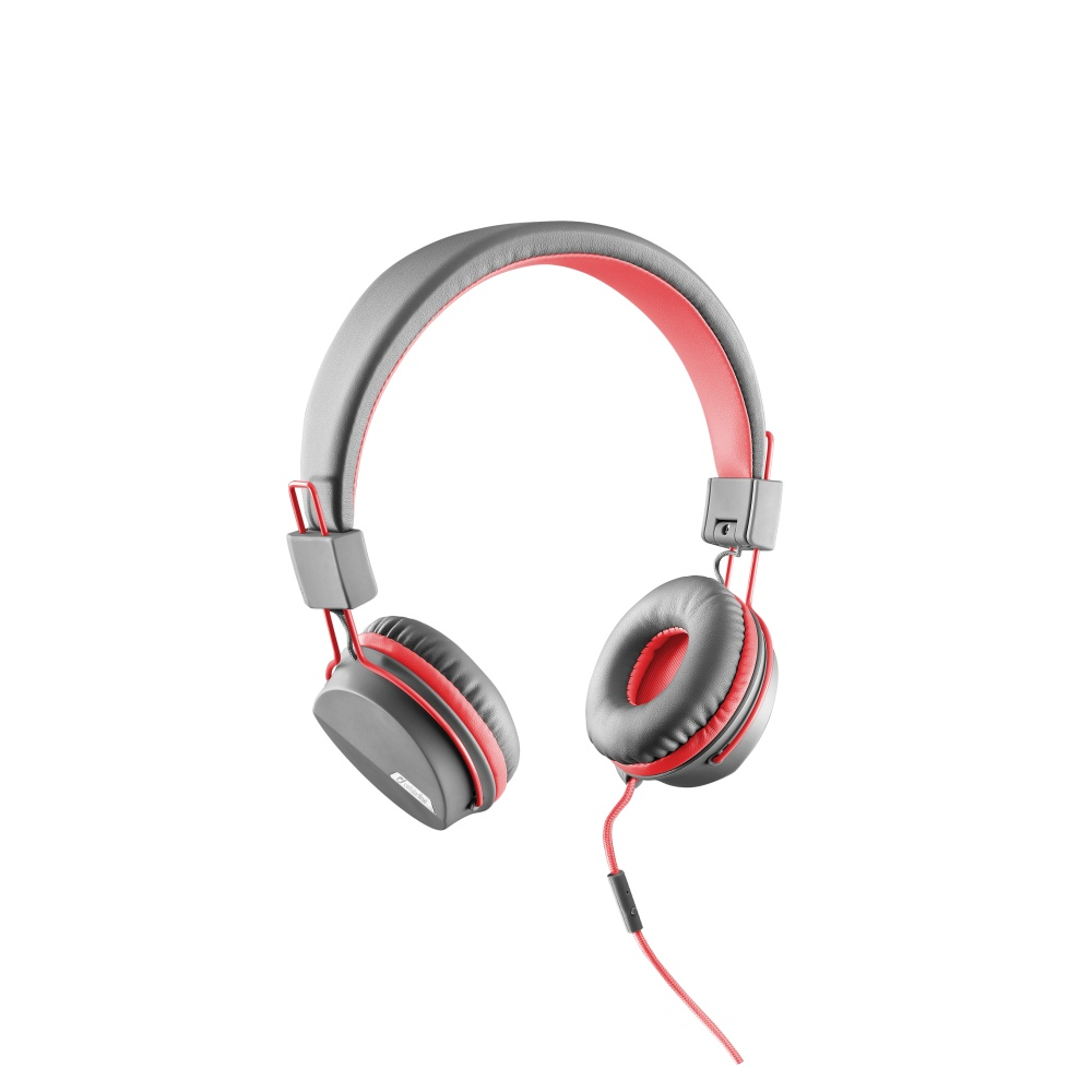 Cellularline STYLE&COLOR sluchátka skládací 3,5 mm jack růžová