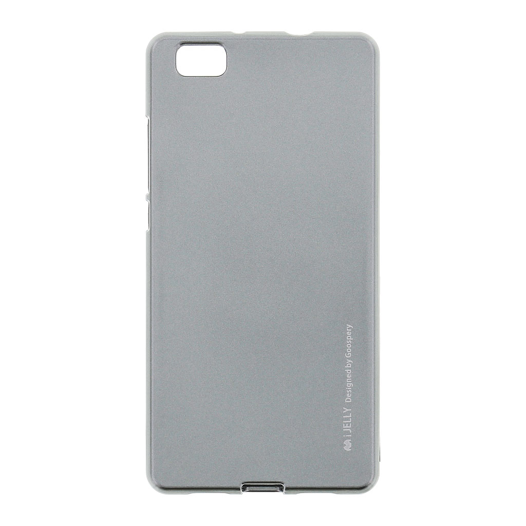 Silikonové pouzdro Mercury i-Jelly METAL pro Huawei P8 Lite Metal Grey