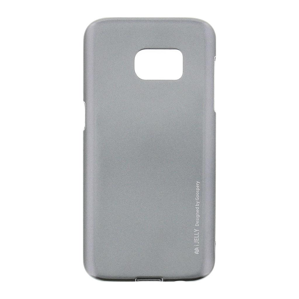 Mercury i-Jelly Case silikonové pouzdro pro Samsung Galaxy S7 Metal Grey
