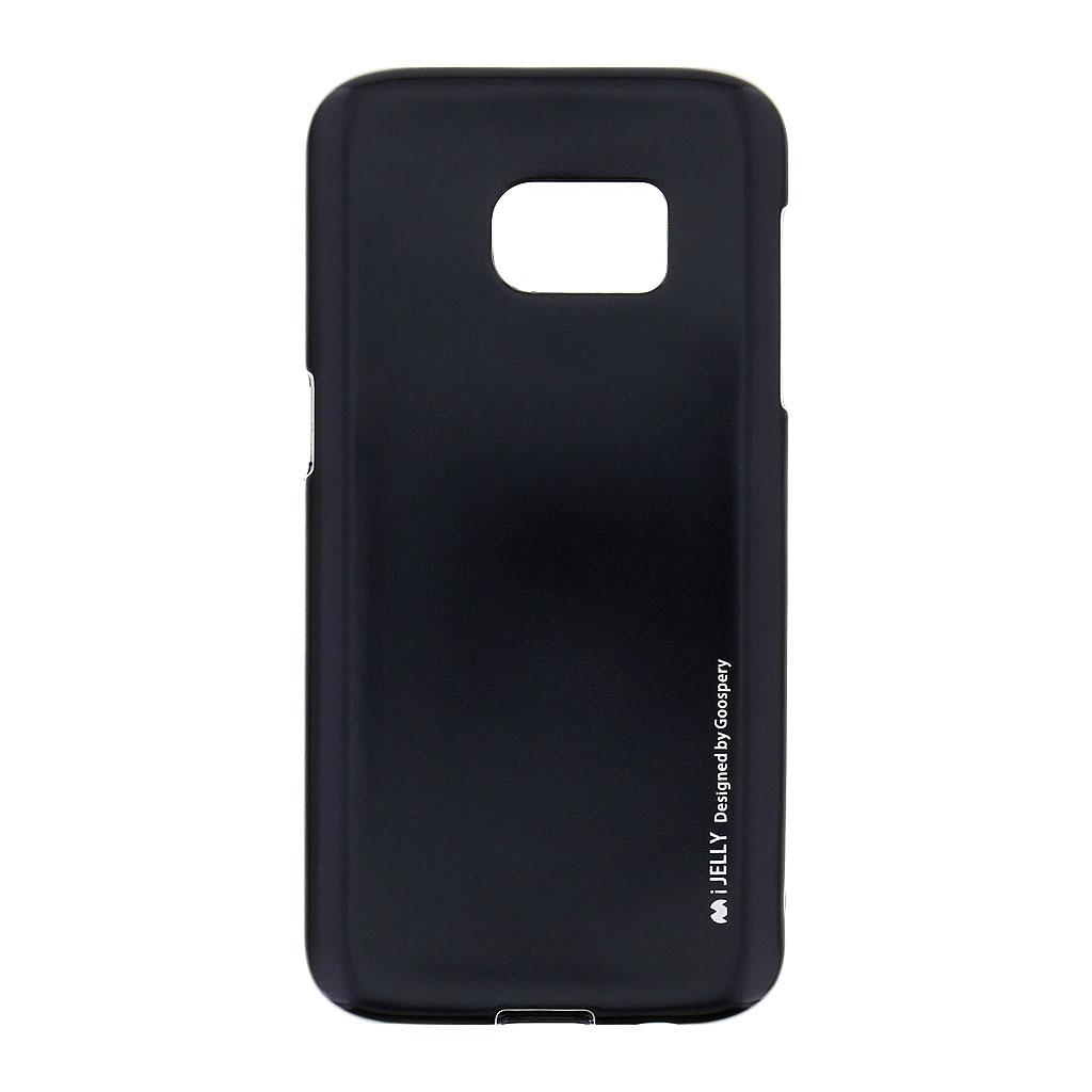 Mercury i-Jelly Case silikonové pouzdro pro Samsung Galaxy S7 Metal Black