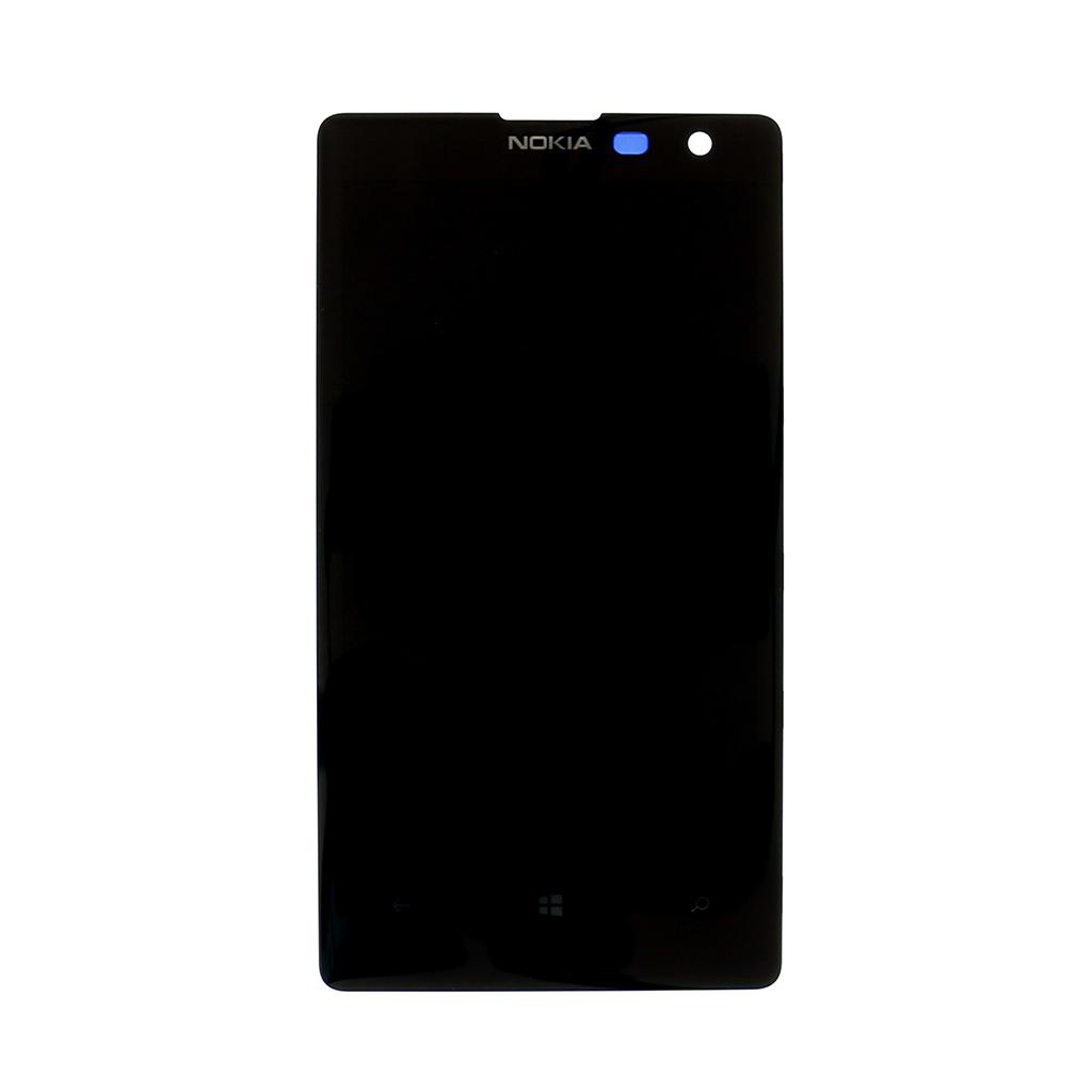 LCD display + dotyková deska pro Nokia Lumia 1020, černá