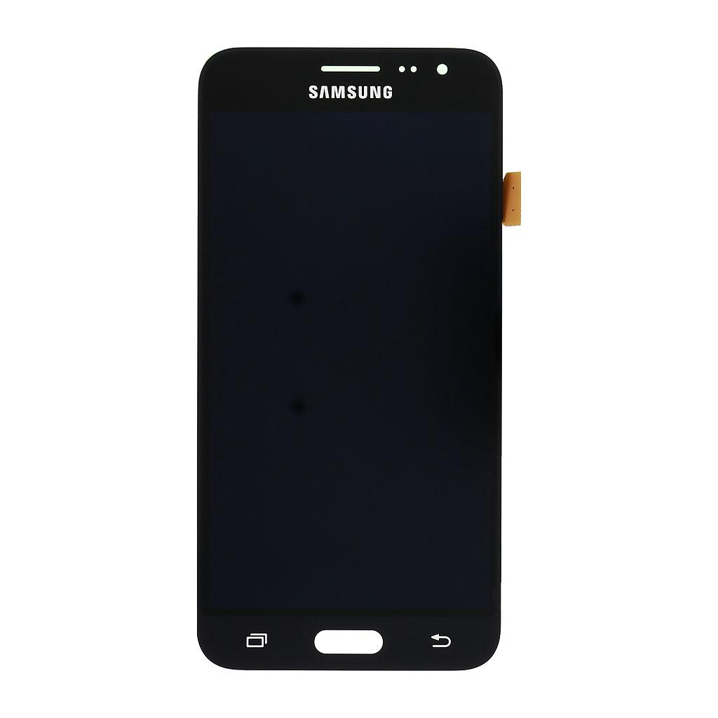 LCD display + dotyková deska pro Samsung Galaxy J3 (2016) J320, černá (Service Pack)