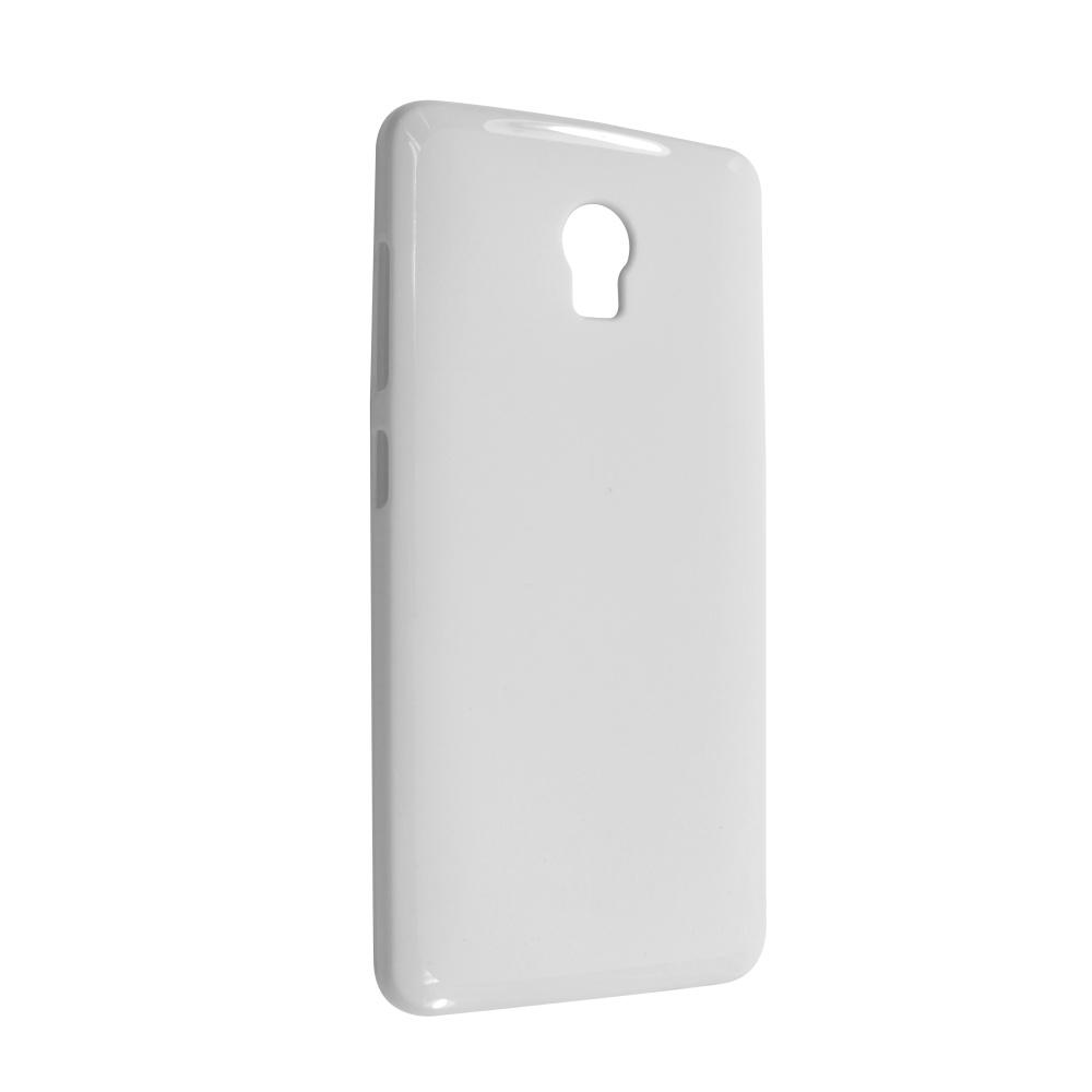 FIXED silikonové pouzdro pro Lenovo Vibe P1, bílé