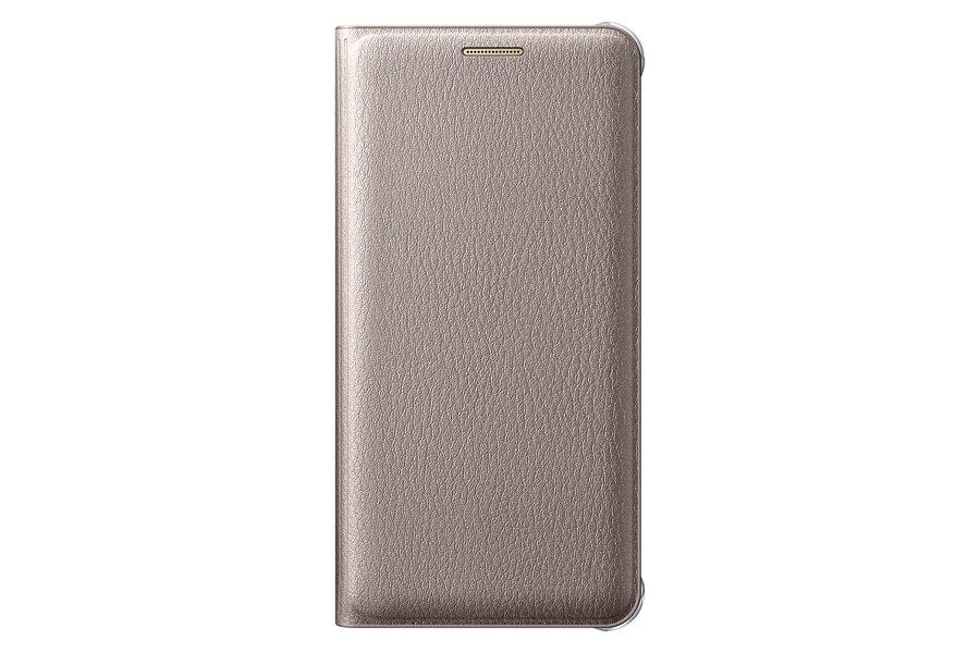 Samsung EF-WA310PFE pouzdro flip Samsung Galaxy A3 2016 zlaté