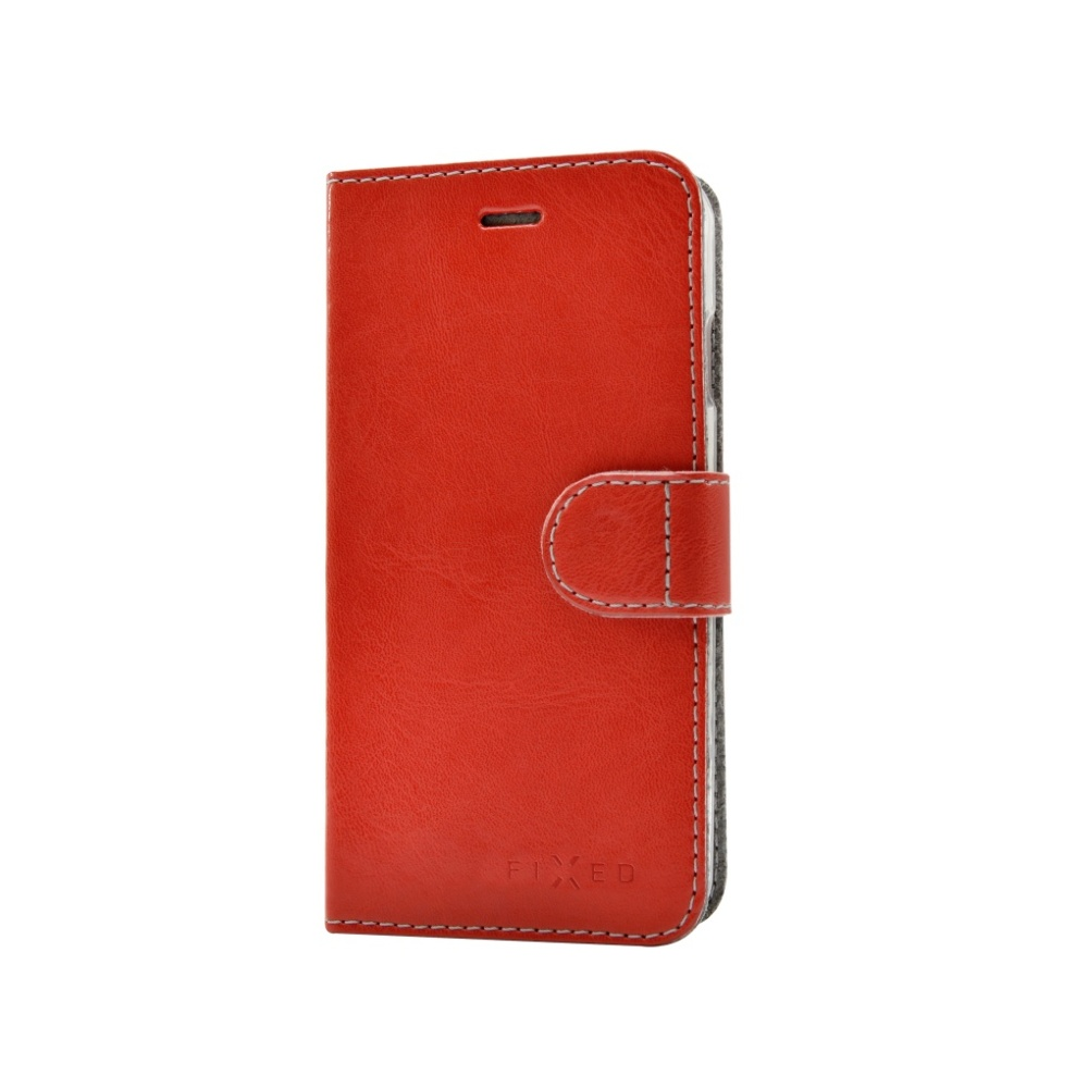 FIXED FIT flipové pouzdro na mobil Lenovo Vibe S1 Lite červené