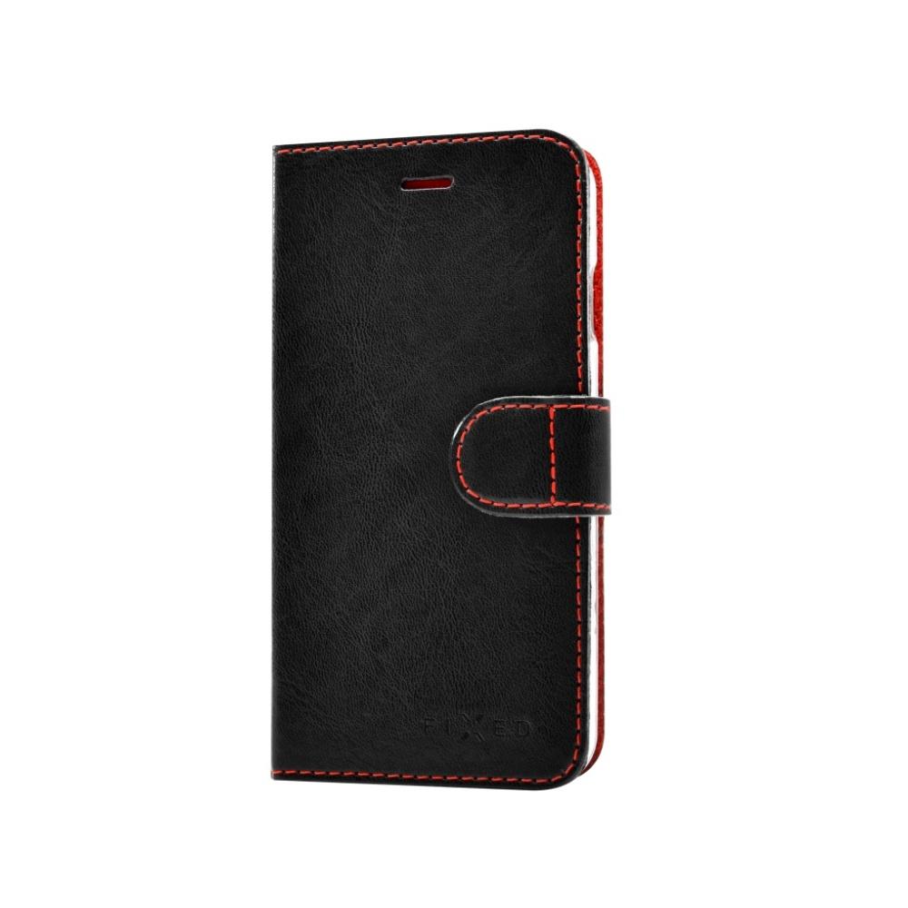 FIXED FIT flipové pouzdro na mobil Motorola Moto Z černé